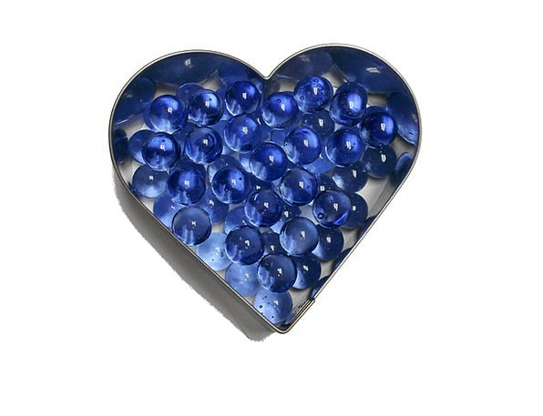 Heart Emotion Azure Marbles Wits Blue Happiness De