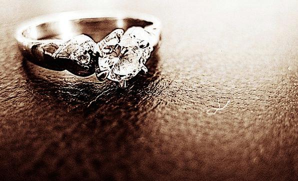 Ring Circle Fashion Rhombus Beauty Jewelry Jewels
