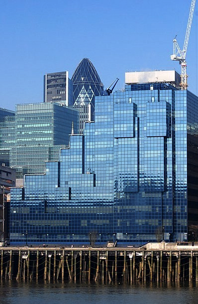 London Buildings Architecture Offices Workplaces T