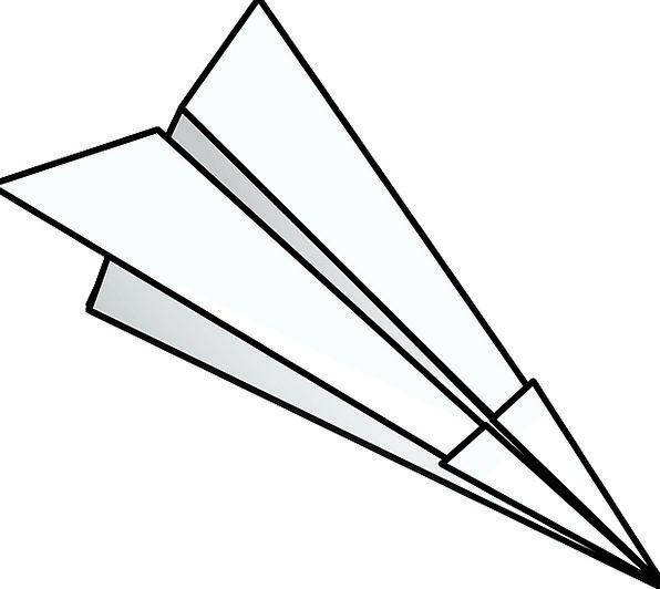 Origami Newspaper Airplane Aircraft Paper Fling Fl