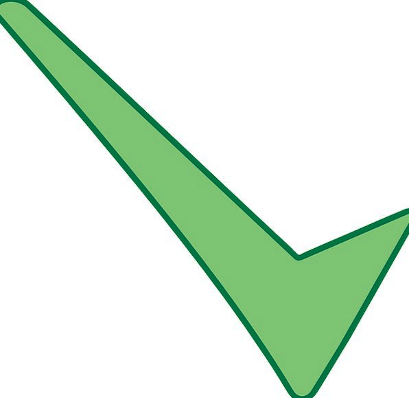 Ticks Impulses Spot Green Lime Mark Vote Right Che
