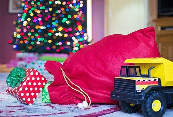 Gifts Handouts Xmas Christmas Santa'S Sack Holiday
