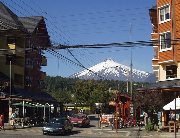 Volcano Fairy Tales Volcanism Snow Cap Villa Rica
