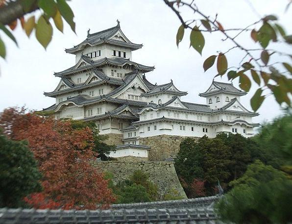 Himeji Fortress Heritage Inheritance Castle Autumn