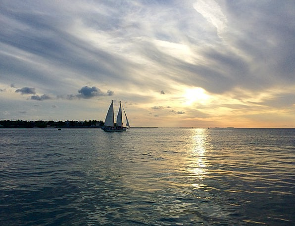 Key West Vacation Travel Florida Sunset Celebratio