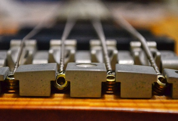 Bassguitar Deep-toned Guitar Bass Music Melody Was