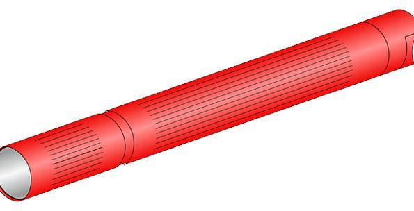 Flashlight Penlight Cordless Light Bright Battery