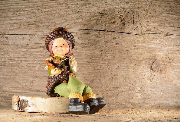 Doll Figure Holzfigur Fig Girl Lassie Sit Dreams B