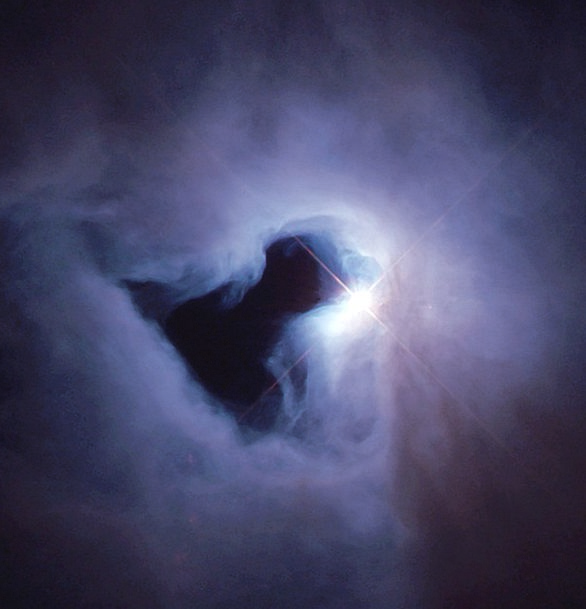 Star Interstellar Fog Mist Black Hole Ngc 1999 Nas