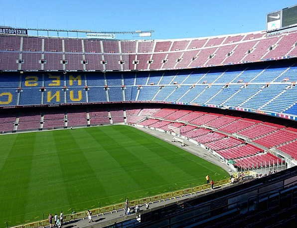 Football Stadium Camp Nou Barcelona Sport Diversio