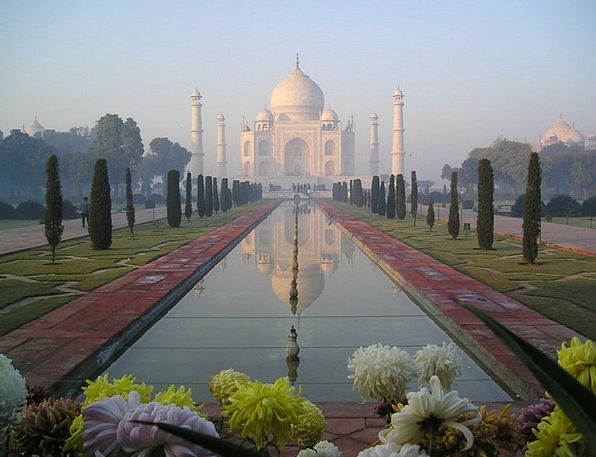 Taj Mahal Agra India Temple Shrine Tomb Grave Cata