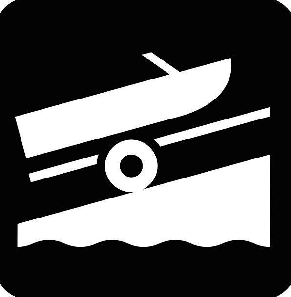 Boat Ship Trailer Clip Boat Trailer Symbol Splashd
