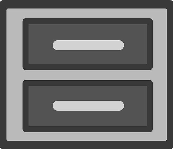Cabinet Cupboard Folder Symbol File Sign Icon Free