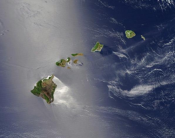 Hawaii Isles Island Chain Islands Archipelago Aeri