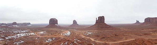 Monument Valley Landscapes View Nature Utah Panora