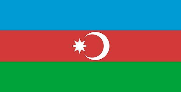 Azerbaijan Standard National Nationwide Flag Free