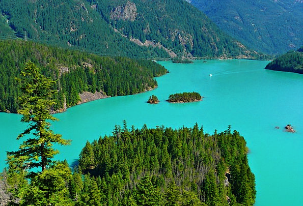 Turquoise Landscapes Nature Water Aquatic Ross Lak