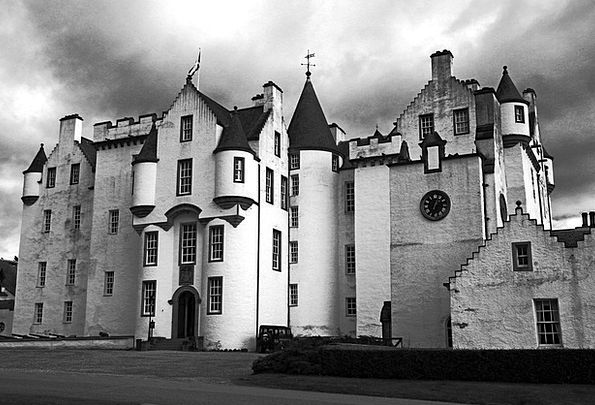 Castle Fortress Highlands And Islands Scotland Sto