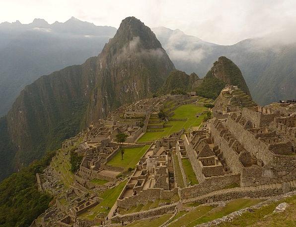 Machu Picchu Vacation Travel Ruins Shells Machupic