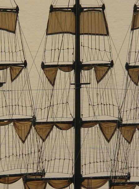 Sail Navigate Vessel Sailing Vessel Ship Shrouds H