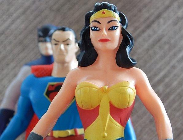 Wonder Woman Fashion Champion Beauty Superheroes C