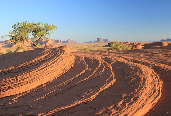 Mystery Valley Arizona Monument Valley Desert Rewa