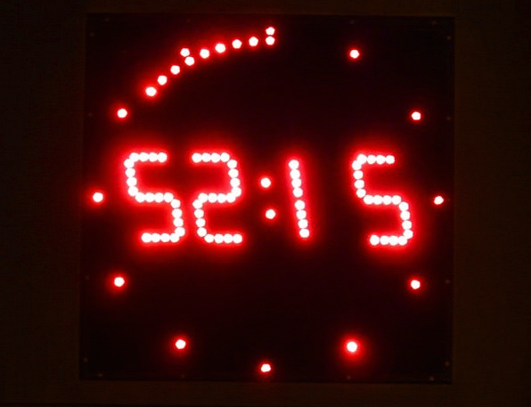 Digital Clock Timepiece Digital Numerical Clock Ti