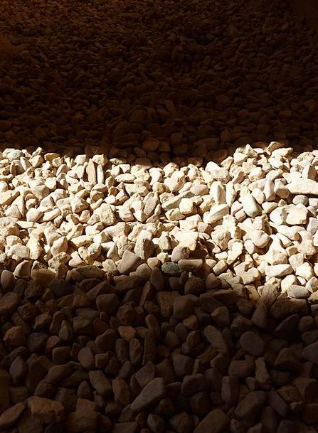 Stones Gravels Landscapes Bright Nature Shadow Gum