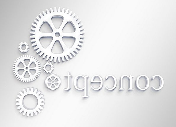 Gears Mechanisms Textures Backgrounds Logo Symbol