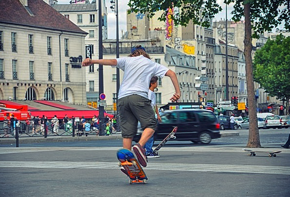 Skateboard Urban Sport Adolescence Urban Activity