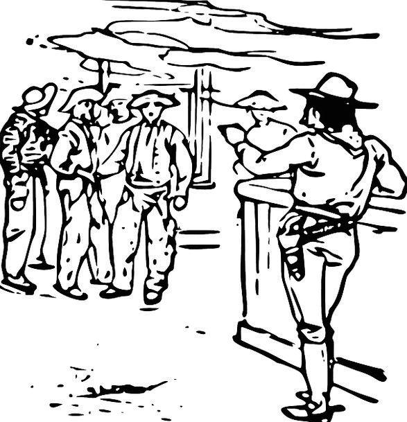 Western Cowboy movie Sheriff Bar Alcohol Liquor Co