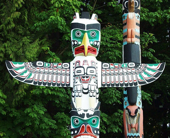 Totem Pole Buildings Innate Architecture Indian Na
