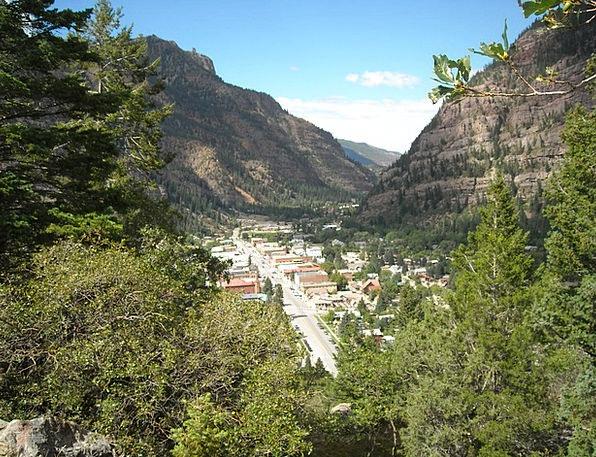 Ouray Landscapes Nature Mountains Crags Colorado V