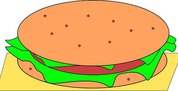 Hamburger Snack food Fastfood Junk Food Burger Fre