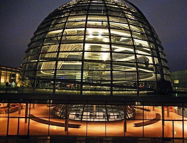 Berlin Reichstag Bundestag Glass Dome Museum Islan