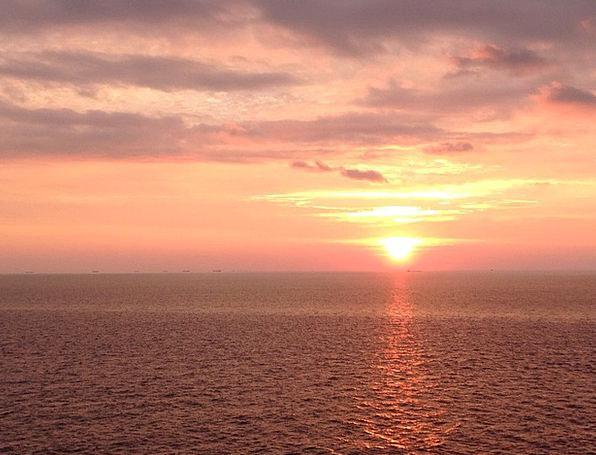 Sunrise Dawn Vacation Travel Sun Morgenstimmung Se