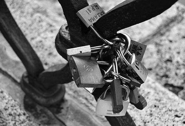 Locks Hairs Darling Railing Fence Love