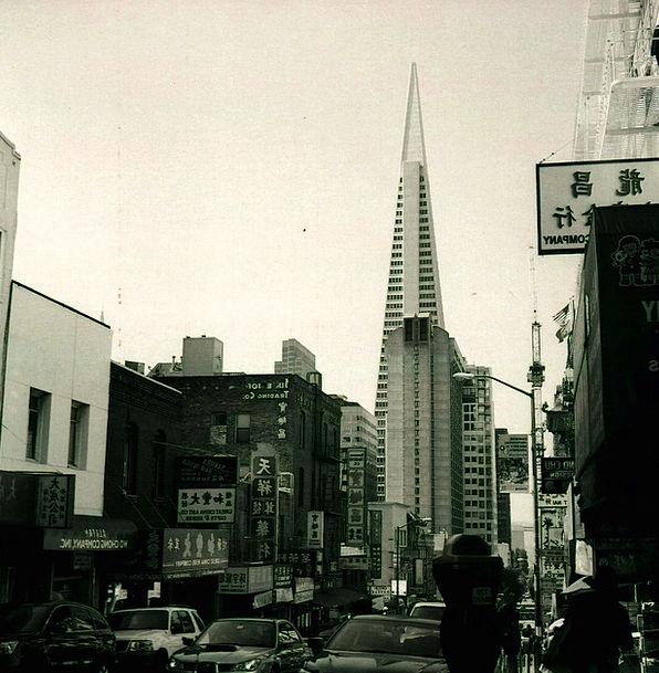 San Francisco Buildings Urban Architecture Gratte