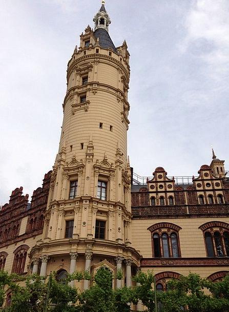 Tower Barbican Mecklenburg Western Pomerania Schwe