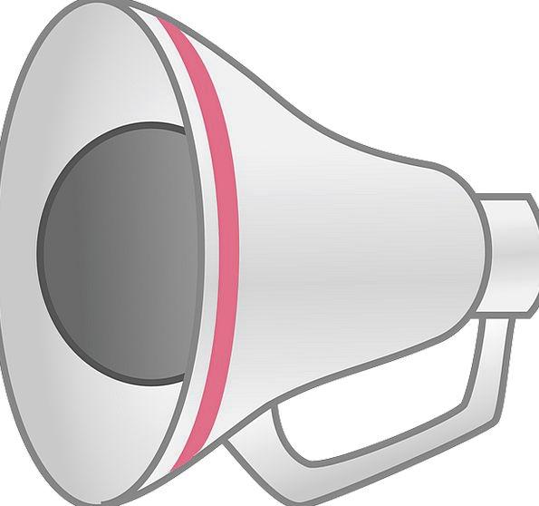 Megaphone Loudspeaker Complete Amplify Intensify S