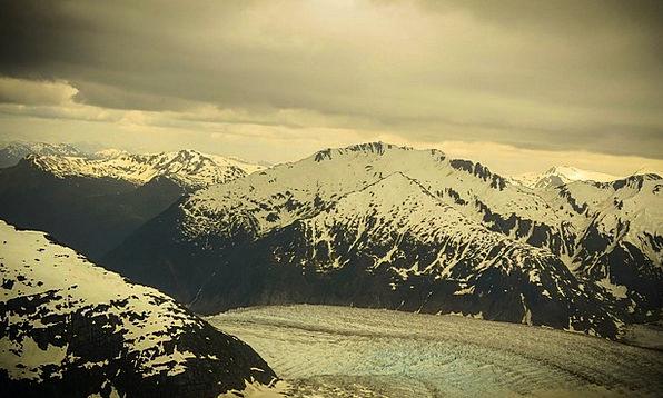 Mendenhall Glacier Landscapes Nature Mountains Cra