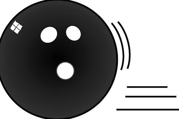 Bowling Careening Sphere Black Dark Ball Score Bow