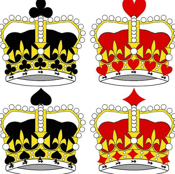 Crowns Tops Royalty Royals King Heraldic Royal Reg
