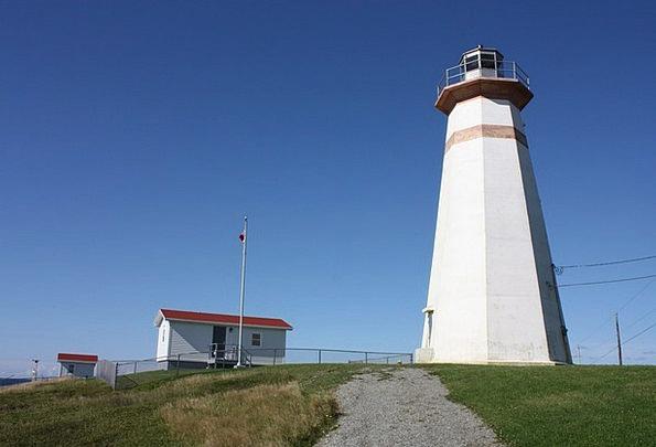 Lighthouse Newfoundland Cape Ray Lighthouse Canada