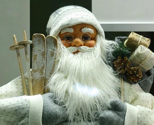 Santa Claus Advent Arrival Christmas Christmas Gif
