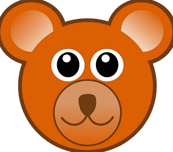 Teddy Bear Skull Bear Tolerate Head Happy Teddy Ch