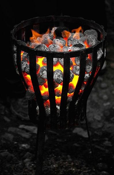 Burn Injury Petroleum Dark Dim Coal Outdoor Evenin