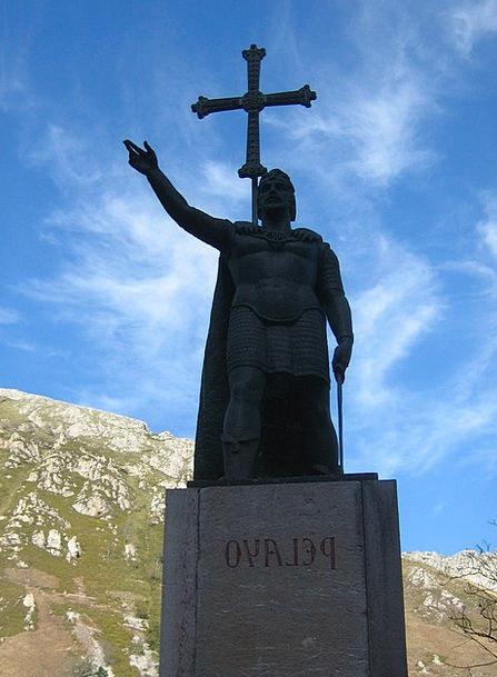 Statue Figurine Pelayo Covadonga