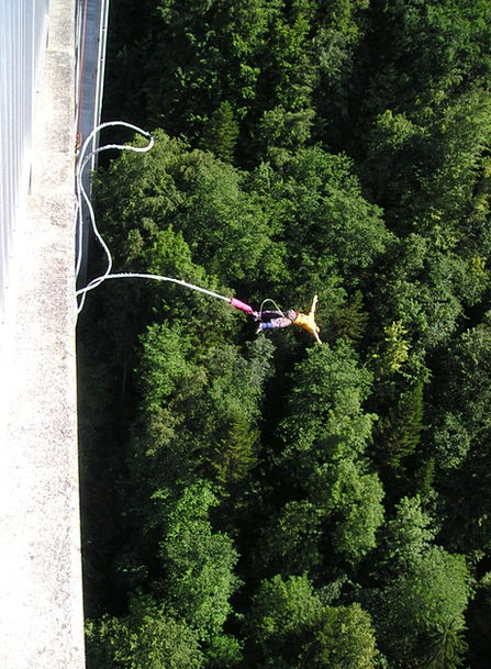 Bungy Extremely Very Bungee Extreme Sports Adventu