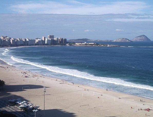 Copacabana Beach Vacation Travel Beach Seashore Ri